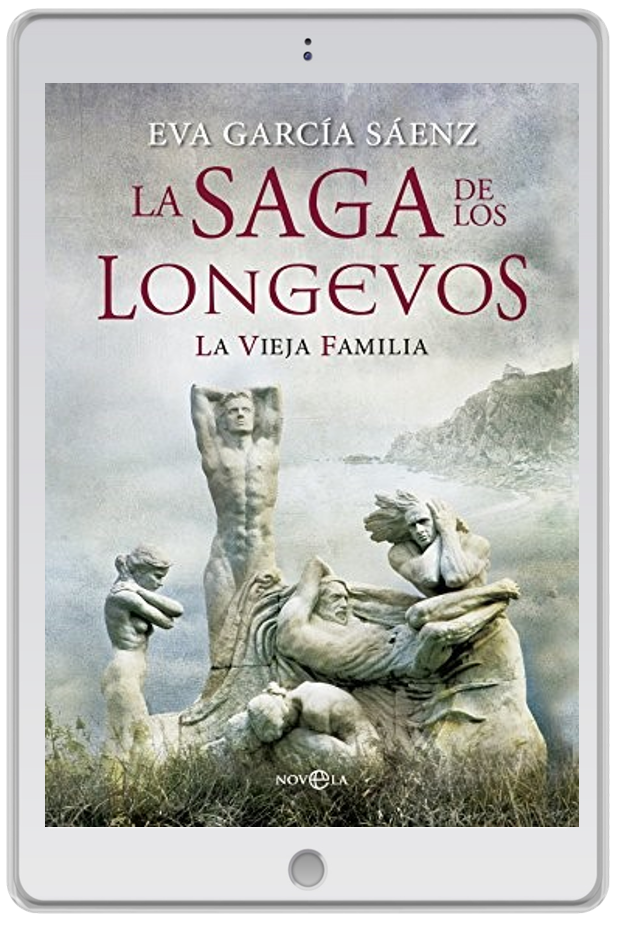 «La saga de los longevos», Eva García Sáenz de Urturi